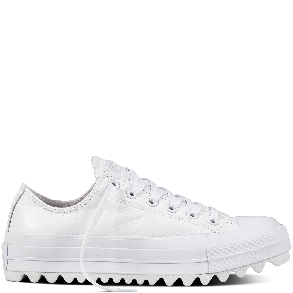 Converse Chuck Taylor All Star Lift Ripple Ox Leather 559879C