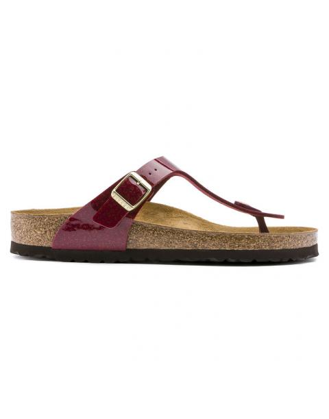 Birkenstock GIZEH Magic Snake Bordeaux 1013629