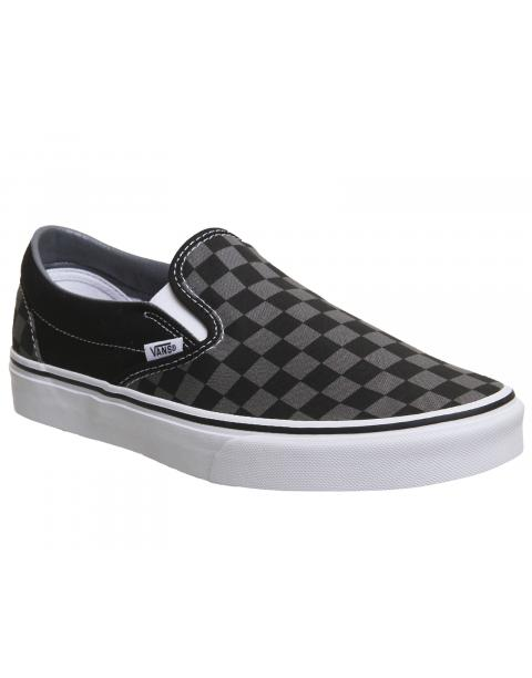 Vans CLASSIC SLIP-ON Black Pewter VEYEBPJ