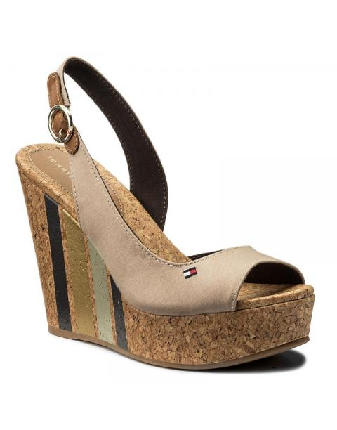 Tommy Hilfiger Wedge With Printed Stripes FW0FW02794