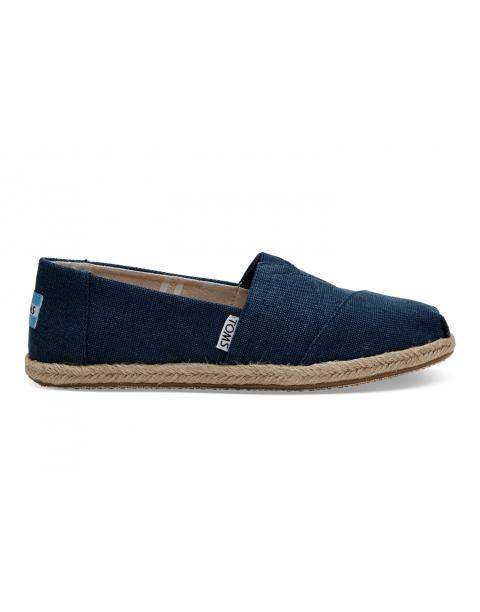 Navy Washed Canvas Women's Classics 10009758