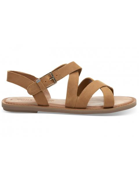 Tan Leather Women's Sicily Sandals 10013440